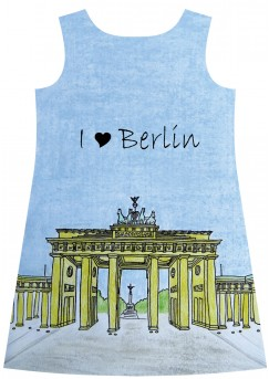 Berlin cityscape dress