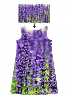 Custom dress with your photo